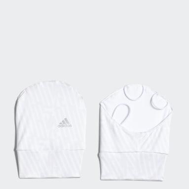 Women Golf White UV Graphic Hand Cover