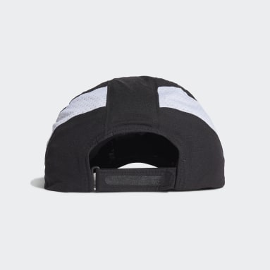 Running Black AEROREADY Retro Tech Reflective Runner Cap