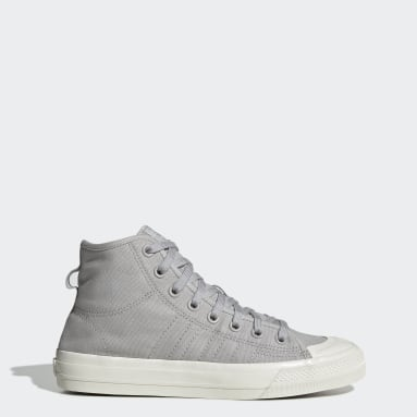 Men's Originals Grey Nizza Hi RF Shoes