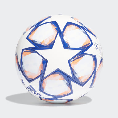 Fußball UCL Finale 20 Competition Ball Weiß