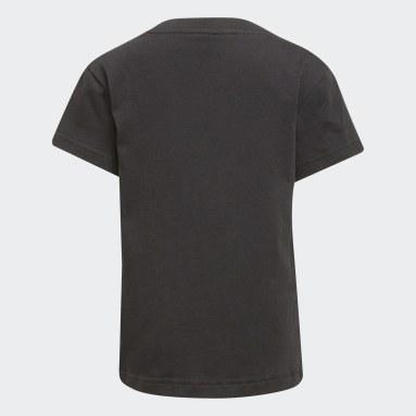 Kids 4-8 Years Originals Black Adicolor Trefoil T-Shirt