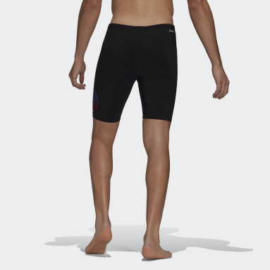 Men Swimming Black Primeblue Swim Jammers
