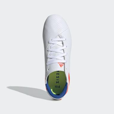 Çocuklar Futbol Beyaz Nemeziz Messi 19.4 Krampon