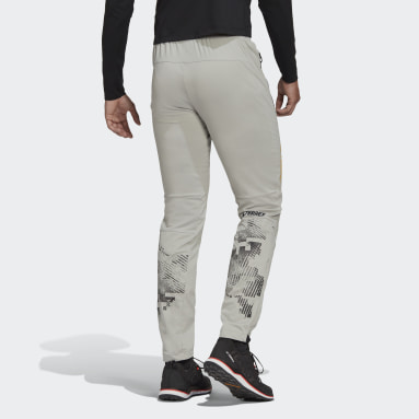 Men TERREX Grey Terrex Agravic XC Soft Shell Joggers