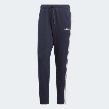 Men Sportswear Blue Essentials 3-Stripes Joggers