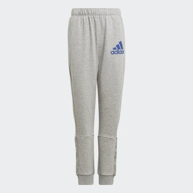 Boys Training Grey Badge of Sport Pants