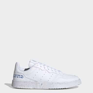 Tenis Veganos Supercourt Blanco Hombre Originals
