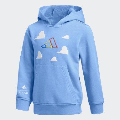 Blusa Moletom adidas Hoops x Toy Story (UNISSEX) Azul Kids Basquete