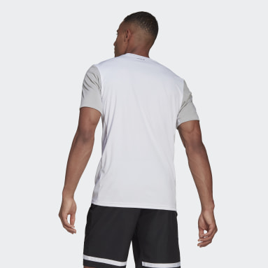 Men Tennis White Club Tennis Tee