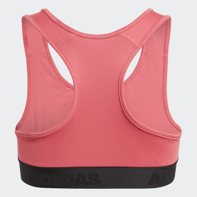 Reggiseno Alphaskin Sport Rosa Ragazza Fitness & Training