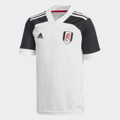 Maglia Home Fulham FC Bianco Ragazzo Calcio