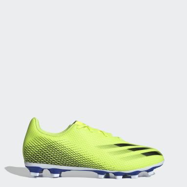 Calzado de Fútbol X Ghosted.4 Multiterreno Amarillo Hombre Fútbol