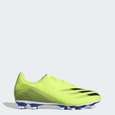 Soccer Yellow X Ghosted.4 Flexible Ground Cleats