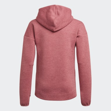 YG ZNE 3 HOODIE Gris Filles Fitness Et Training