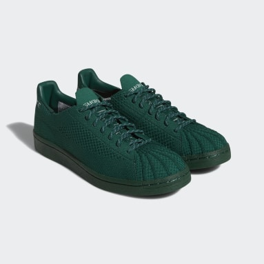 Originals Grøn Pharrell Williams Superstar Primeknit sko