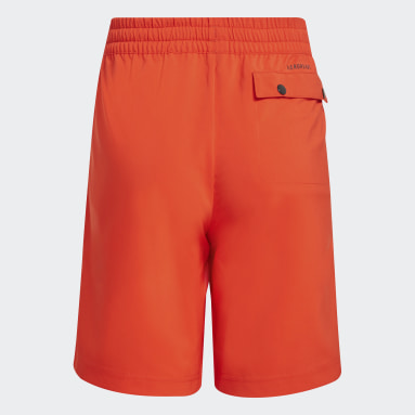Kids Lifestyle Red adidas x Classic LEGO® Woven Shorts