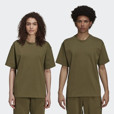 Originals Green Pharrell Williams Basics Shirt (Gender Neutral)