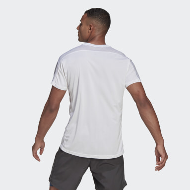 Men's Running White Own the Run Tee