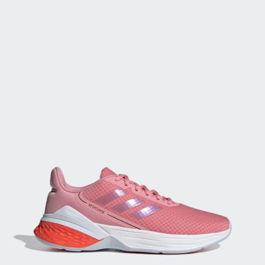 Women Running Pink Response SR Shoes