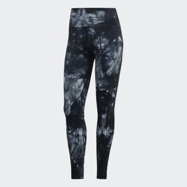 Women's Yoga Black Believe This Parley 7/8 Tights