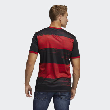 Men's Soccer Black CR Flamengo Home Jersey