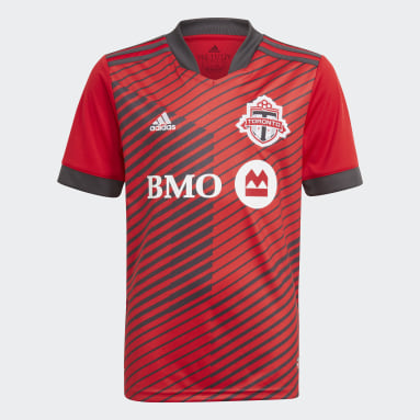 Maillot Domicile Toronto FC 21/22 rouge Adolescents Soccer