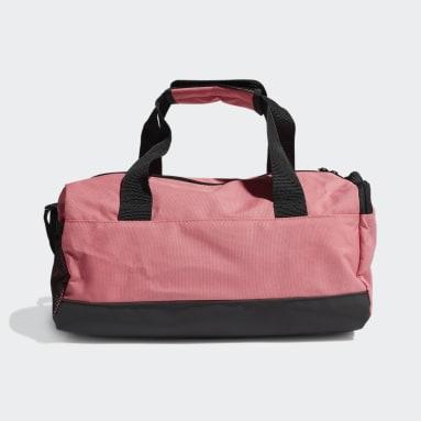 Essentials Logo Duffelbag, ekstra liten Rosa