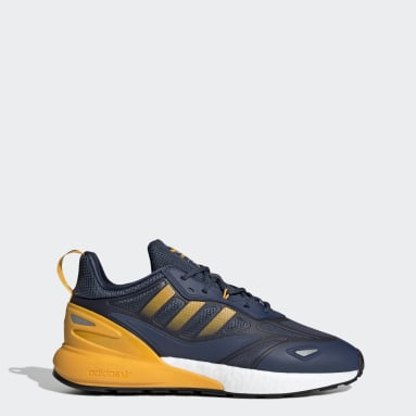 Men Originals Blue ZX 2K Boost 2.0 Shoes