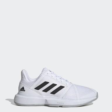 Women's Tennis White CourtJam Bounce Shoes