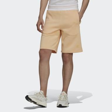 Heren Originals oranje Adicolor Classics MM Trefoil Short