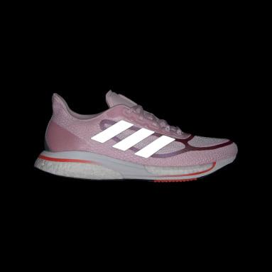 Kvinder Løb Pink Supernova+ sko