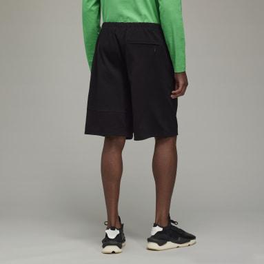 Y-3 Classic Heavy Piqué Shorts Nero Uomo Y-3