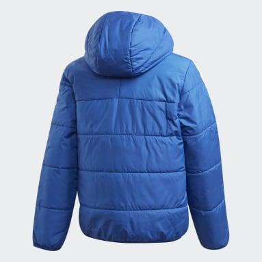 Padded Jacket Niebieski