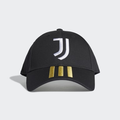 Jockey Béisbol Juventus (UNISEX) Negro Fútbol