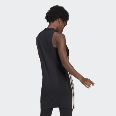 Women Sportswear Black adidas Sportswear Recycled Cotton Tank Dress
