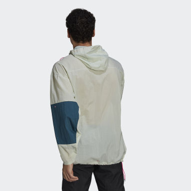Men's Running Green Adapt Jacket