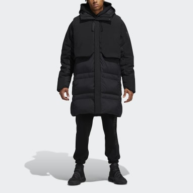 черный Пуховик Pharrell Williams MYSHELTER COLD.RDY