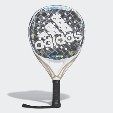 Padel-Tennis Adipower Light Padel-Schläger 2.0 Grau