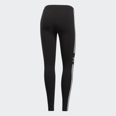 Women Originals Black Trefoil Leggings