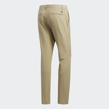 Men Golf Beige Ultimate365 Tapered Pants
