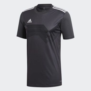 Maillot Campeon 19 Gris Hommes Fitness Et Training