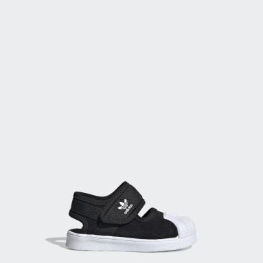 Deti Originals čierna Sandále Superstar 360