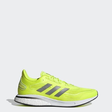 Running Yellow Supernova Shoes