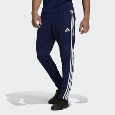 Men Soccer Blue Tiro 19 Training Pants