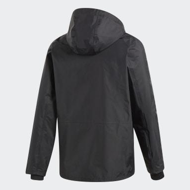 Mænd Fodbold Sort Condivo 18 Storm jakke