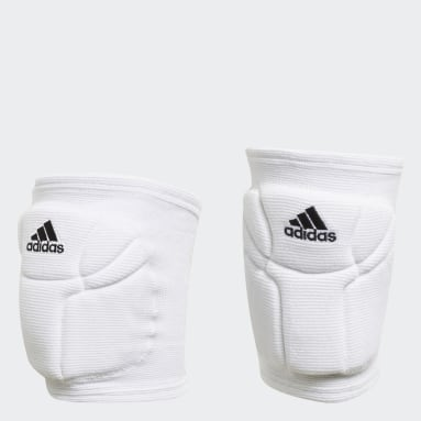 Volleyball White Elite Volleyball Kneepads