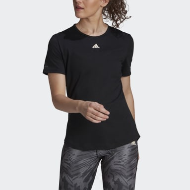 Women's Essentials Black adidas x Zoe Saldana AEROREADY Tee