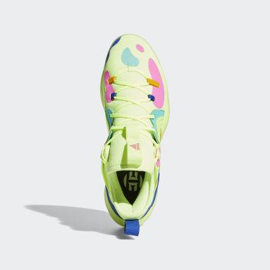 บาสเกตบอล สีเหลือง รองเท้า Harden Stepback 2