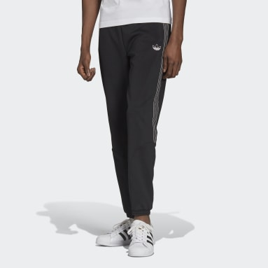 Herr Originals Svart SPRT 3-Stripes Track Pants