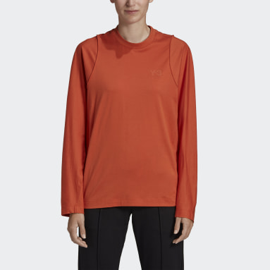 Women Y-3 Orange Y-3 Classic Tailored Tee
